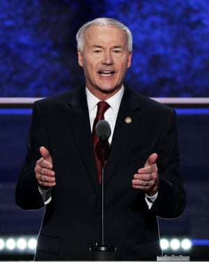 Arkansas governor Asa Hutchinson's plan for eight executions over an 11-day period was criticized as a 'conveyor belt' of death.