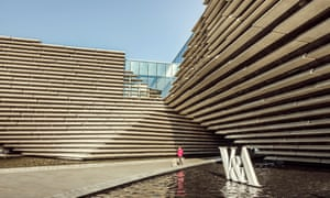 The V&A Dundee, which opened in 2018, was designed by Kengo Kuma.