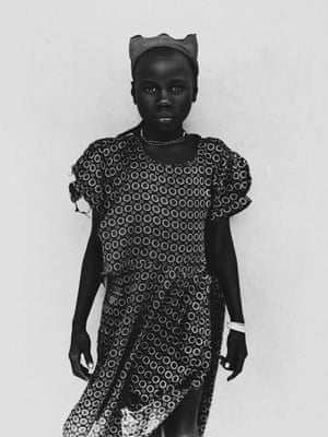 A young girl photographed in Mukono, Uganda
