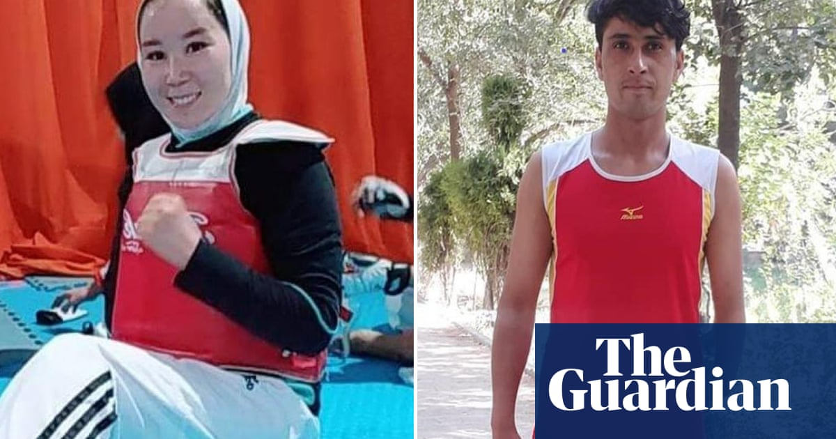 Afghanistan duo arrive in Tokyo for Paralympics after Kabul evacuation