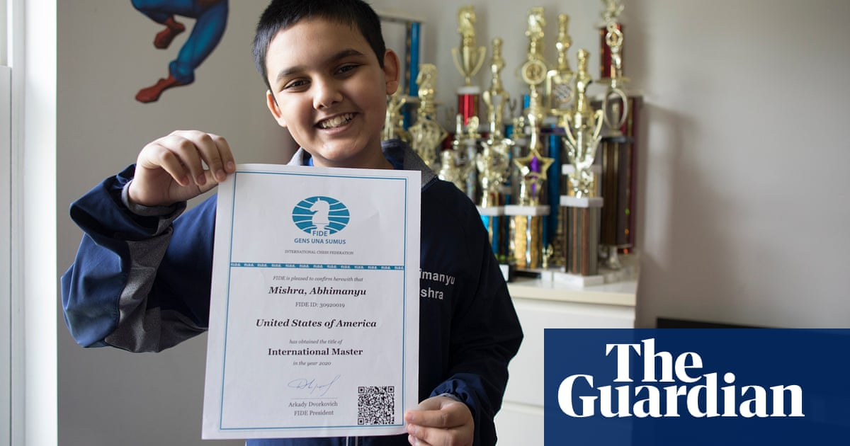 Chess: 12-year-old Abhimanyu Mishra breaks youngest grandmaster record