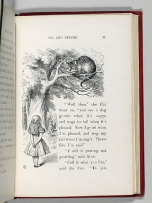 One of the illustrations, the printing of which the illustrator John Tenniel was 'extremely dissatisfied' with.
