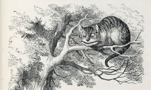 A detail of one of the illustrations by John Tenniel for the first edition of Alice in Wonderland – the printing of which the illustrator was 'extremely dissatisfied' with.