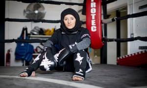 Khadijah Safari runs a chain of women-only gyms that cater for Muslim women.