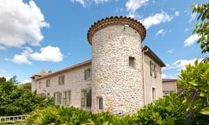 Les Castels' Château de Boisson, near Montpellier, France.