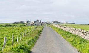 Papa Westray, where a co-op runs the island's only shop and hostel
