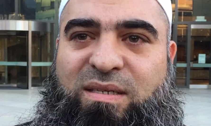 Hamdi Alqudsi outside court in Parramatta