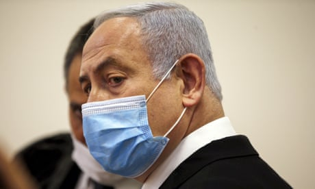 Benjamin Netanyahu appears in court on corruption charges