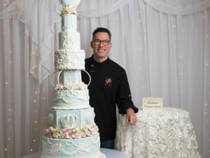 Greg Cleary at the International Cake Show in Brisbane