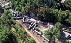 Oregon derailment