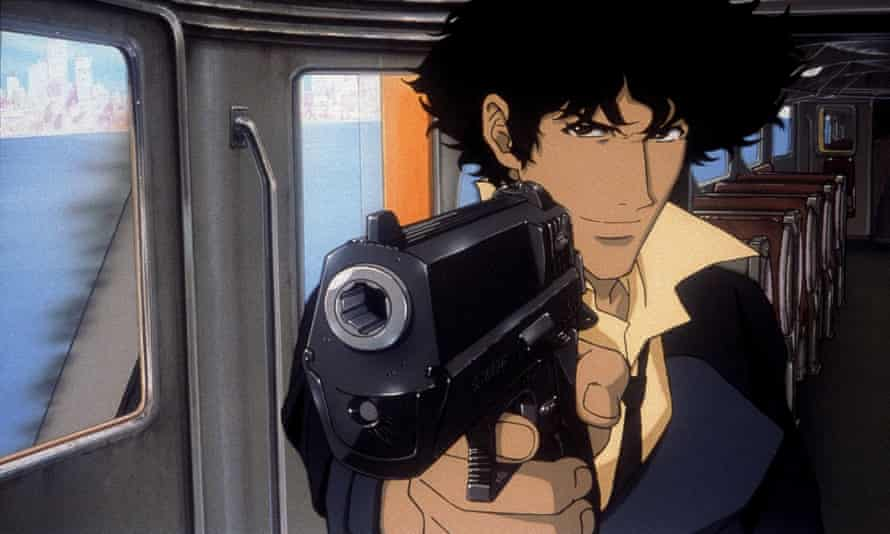 Stand and deliver: Spike Spiegel.