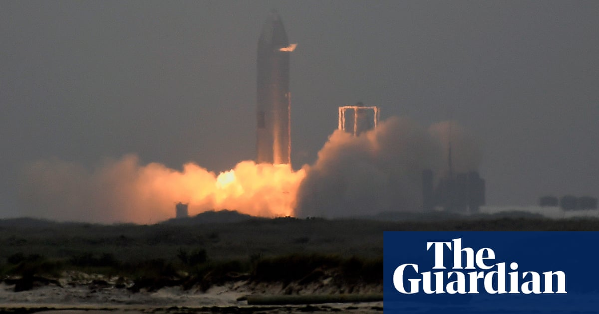 SpaceX finally launches and successfully lands its futuristic Starship