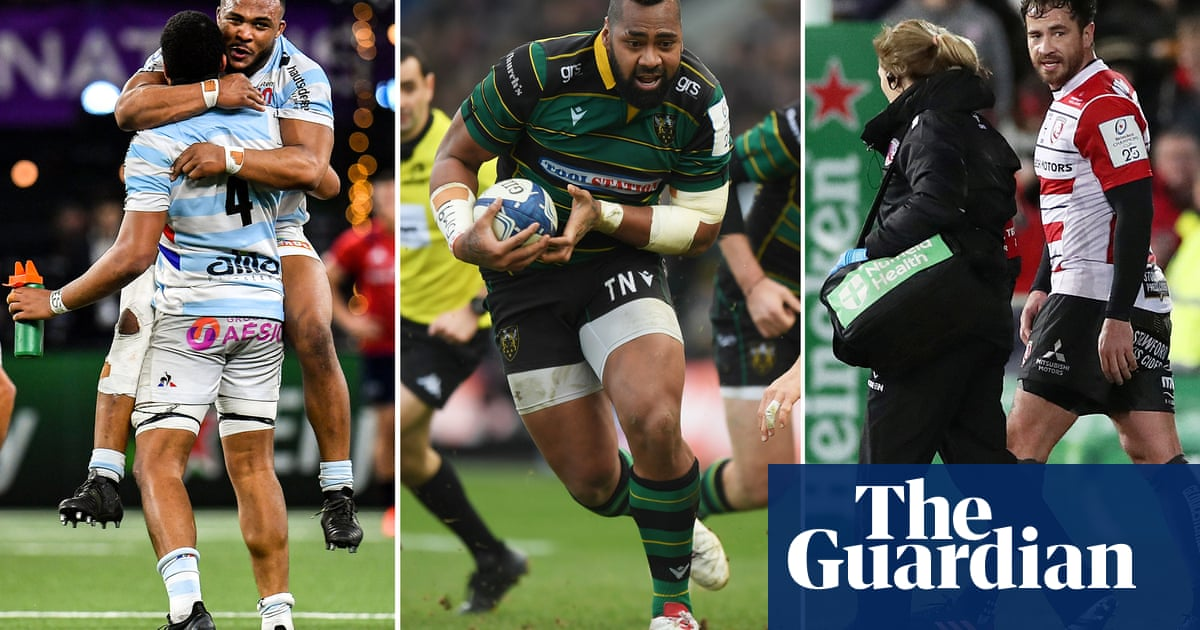 Rugby union: talking points from the weekend's Champions Cup action