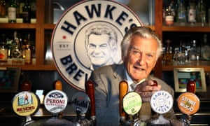 Bob Hawke's 11-second mark for downing ale is the stuff of legend around Oxford.