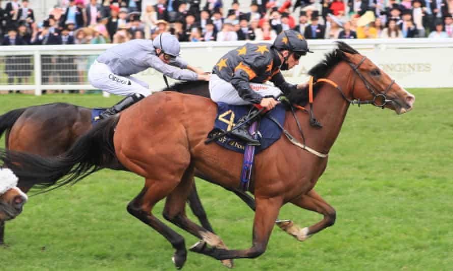 Rohaan, under Shane Kelly, was an impressive winner of the Wokingham Stakes at Royal Ascot.