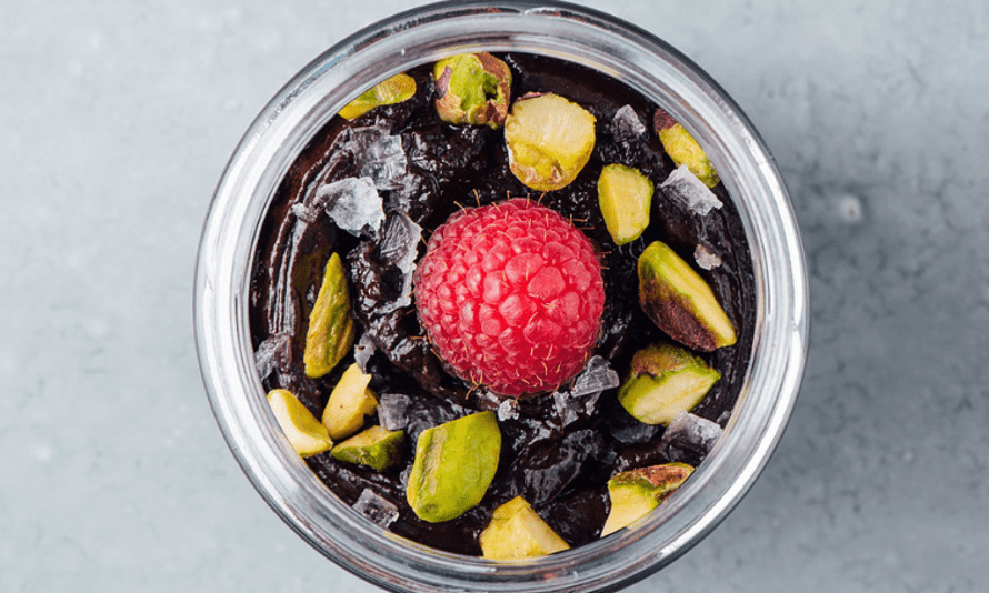 """Le Cupboard's """"leVersailles"""" vegan mousse dessert"""