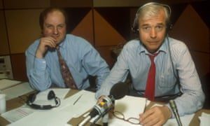 James Naughtie, Today programme co-presenter, sat next to John Humphrys in the studio in 1994. He describes Humphrys as a model of professionalism