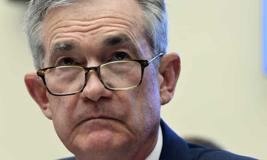 Jerome Powell, the Federal Reserve chairman.