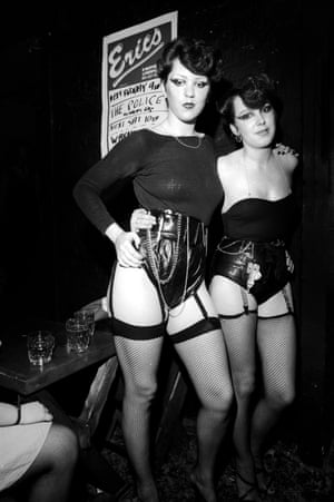 Punks at Erics Liverpool, September 1977