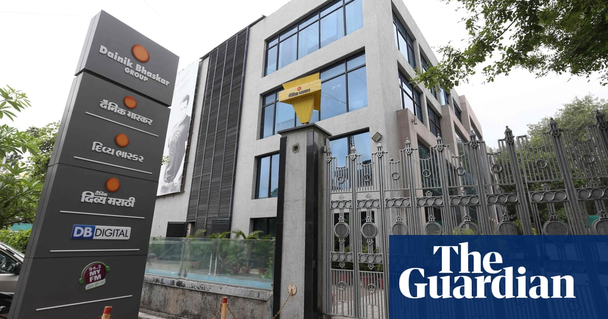Tax raids target Indian paper that criticised government over Covid
