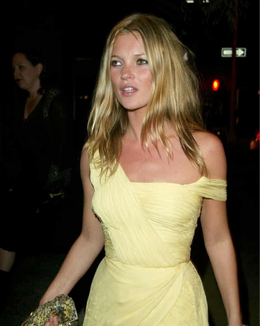 Kate Moss' classic yellow dress in 2003.