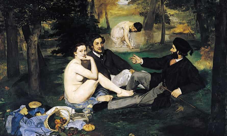 Le Déjeuner sur l'herbe by Édouard Manet.