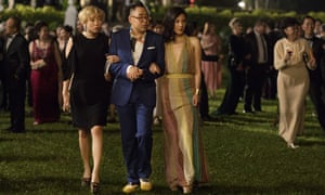 A scene from Crazy Rich Asians.
