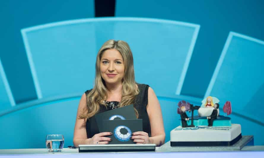 Only Connect host, Victoria Coren Mitchell.
