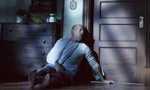 Bruce Willis as Paul Sheldon in Misery at the Broadhurst theatre in New York