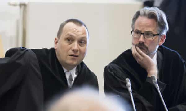 Prosecutors Jens Lehmann and Marcus Preusse.