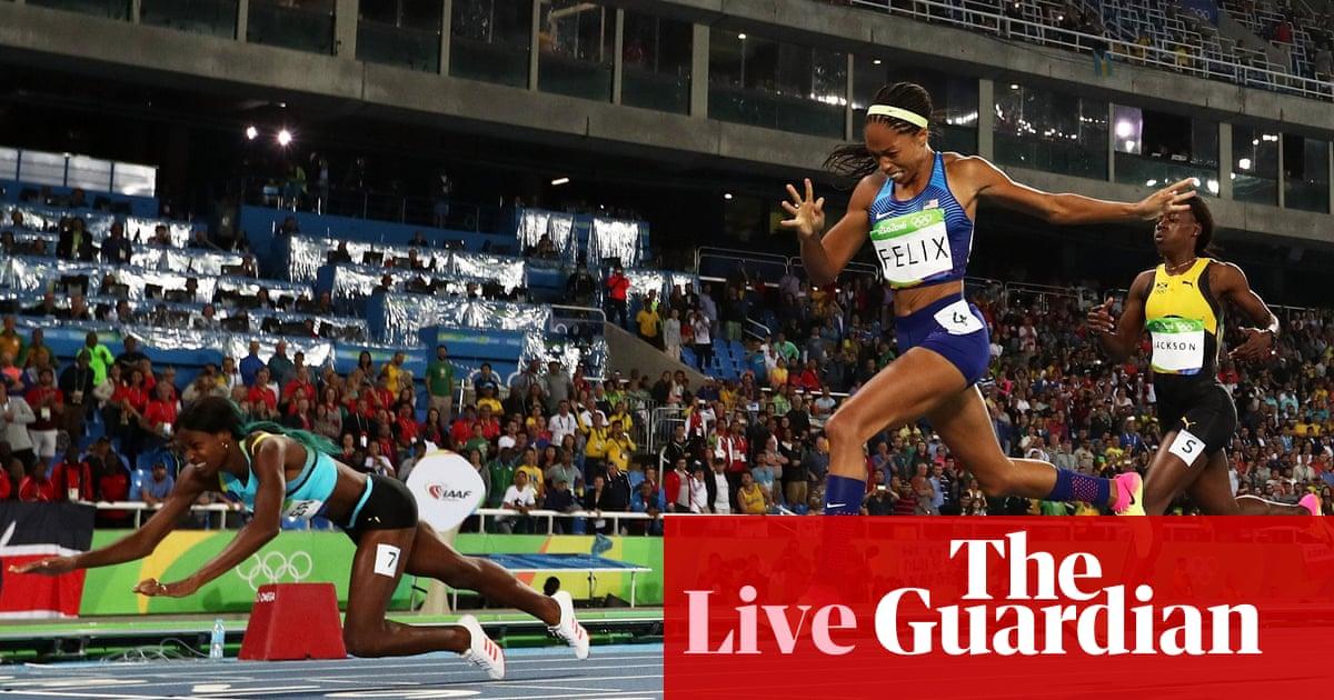 Rio Olympics 2016  drama in 400m and David Rudisha wins 800m – day 10 as it  happened 0ae80ab6b