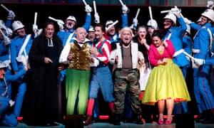 Rossini's The Barber of Seville at the Royal Opera House, London, September 2016.