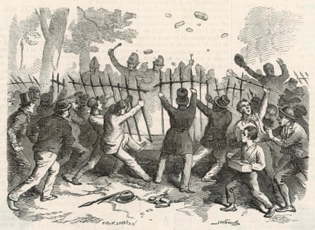 Riots Hyde Park 1866