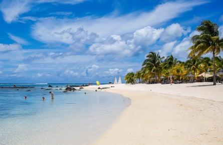 Turtle Bay in Mauritius