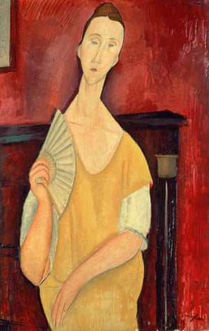 """In 2010, a French thief known as """"Spiderman"""" stole five paintings from the Musée d'Art Moderne, Paris including Amadeo Modigliani's Woman with a Fan. The paintings were all destroyed by an accomplice and the thief, Vjeran Tomic, received an eight year jail sentence"""