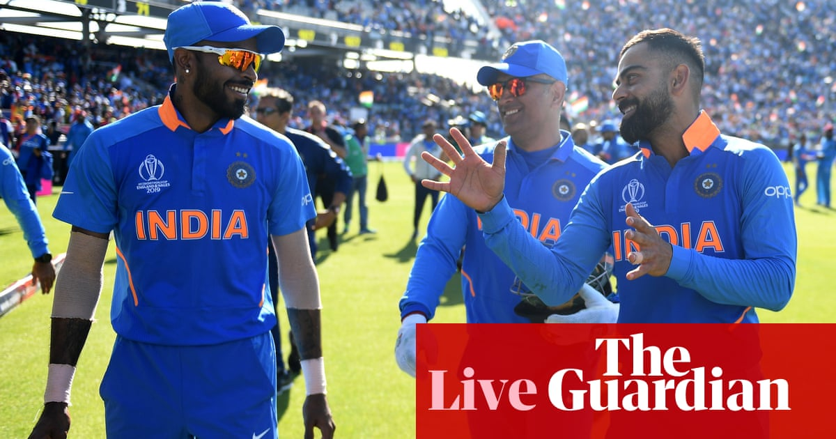 India Beat West Indies By 125 Runs Cricket World Cup 2019
