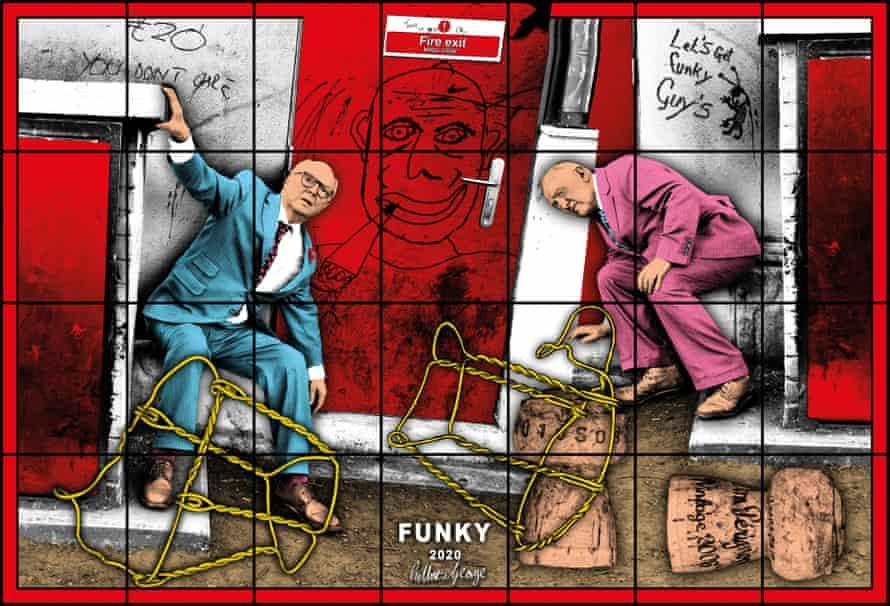 Funky … Gilbert & George.