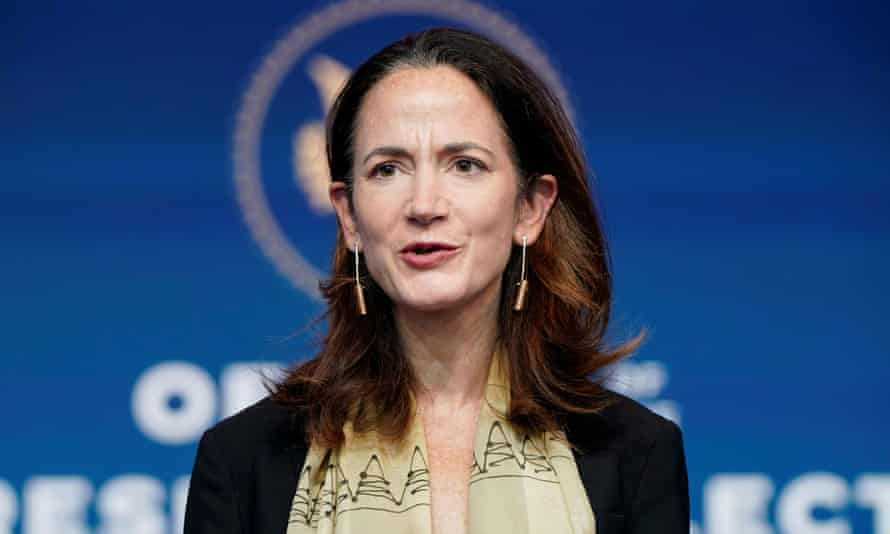 Avril Haines, the new director of national intelligence.