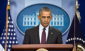 Barack Obama has called for inclusion on the no-fly list to be tied to a ban on gun purchases.