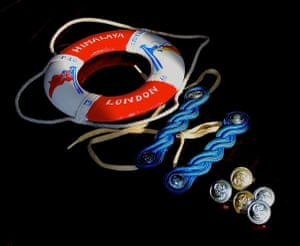 Life on the ocean waveA miniature lifebelt, epaulettes, shiny buttons: souvenirs of my time as a Bell Boy on board the SS Himalaya in the mid-60s