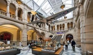 Kelvingrove museum, Glasgow, Scotland.