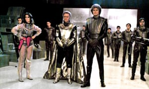 With Christopher Plummer and David Hasselhoff in Starcrash.