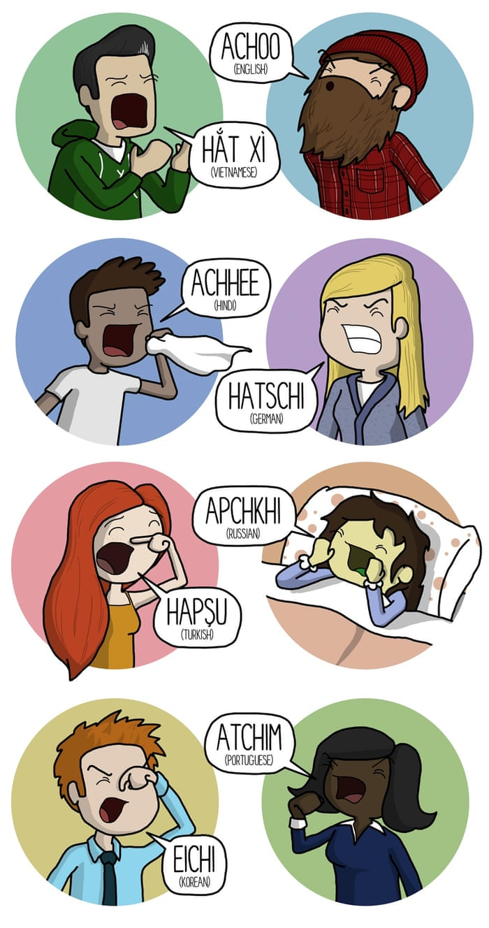 How to sneeze in Japanese  LOL (or, as they say in Indonesia