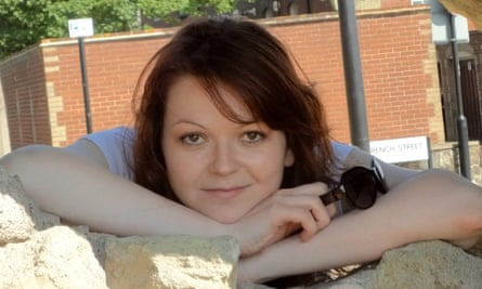 Yulia Skripal, daughter of Russian double agent Sergei Skripal