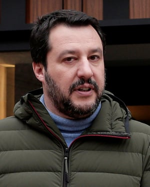 Matteo Salvini, leader of the Northern League.