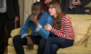 'A provocative, button-pushing shocker that buries itself under your skin and lingers' ... Daniel Kaluuya and Allison Williams in Get Out.