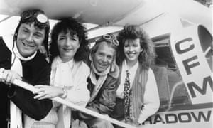 For nostalgia buffs, the Tomorrow's World team during the show's heyday, from L-R: Howard Stableford, Judith Hann, Peter Macann and Maggie Philbin.
