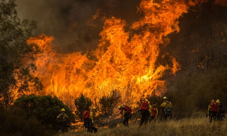 California wildfires torch area bigger than Rhode Island as resources stretched thin