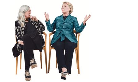 Hillary Clinton and Mary Beard