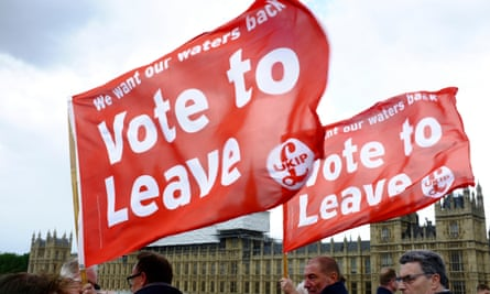 Fishing for Leave: the pro-Brexit 'flotilla' campaigns outside parliament